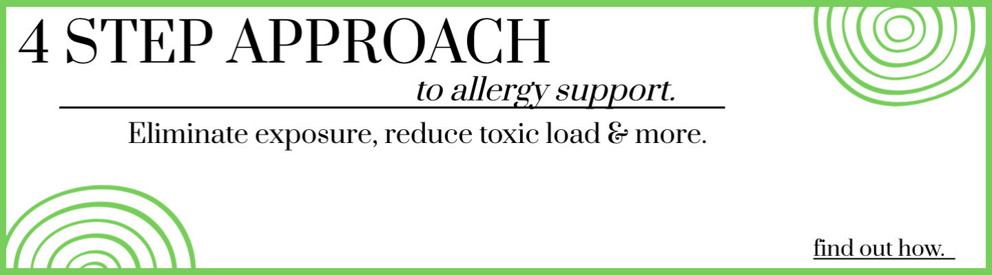 four step approach to allergy relief