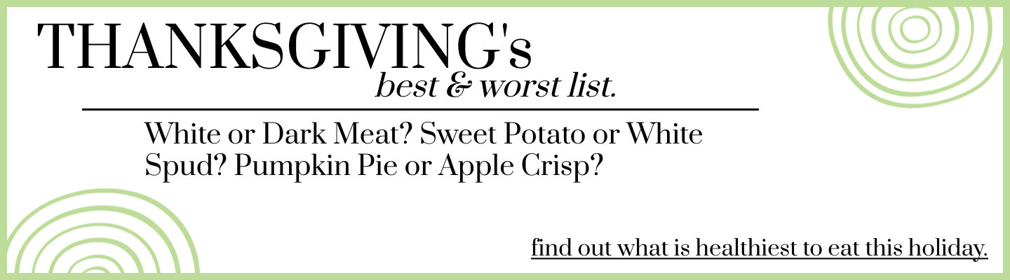 Thanksgiving Best and Worst List